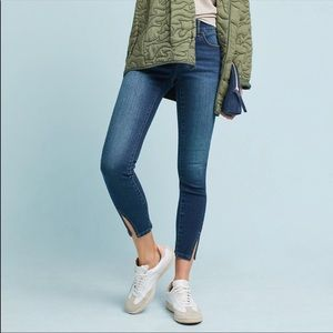 Pilcro Cropped Ankle Skinny Jeans 25